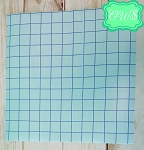 Blue Grid Transfer Tape