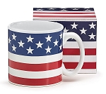 13 oz American Flag Coffee Cup