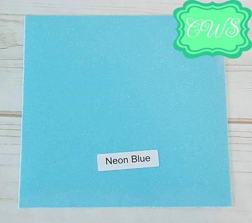 GLITTER Color of the Week- Neon Blue